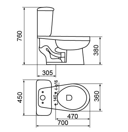 SS 00  SS 00 Drawing  SW 01S Siphonic Close Coupled Toilet  SW 01S Siphonic  Close Coupled Toilet Drawing . Toilet Drawing. Home Design Ideas